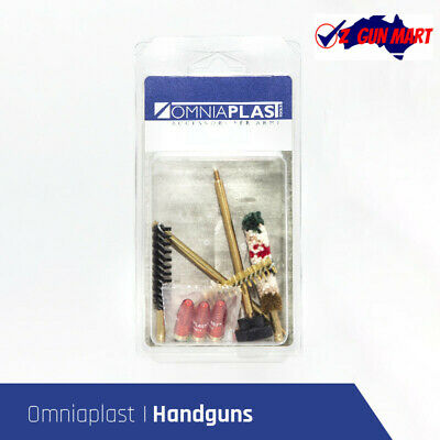 AU19.95 • Buy Omniaplast 9MM Handgun Cleaning Kit With Snap Caps
