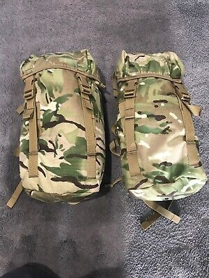 New British Army MTP Side Pouches X 2 - Plc Bergen- Day Sack - Not Virtus • 29.99£
