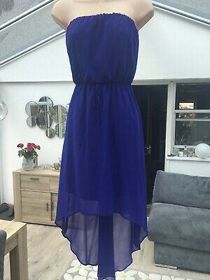 £5 • Buy NEW LOOK Stunning Royal Blue High / Low Dress Size 8