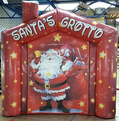 £599 • Buy Inflatable  Santas Grotto For Sale  Brand New