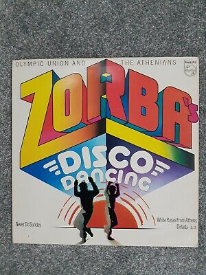 Olympic Union And The Athenians – Zorba's Disco Dancing  6435 020 Vinyl LP • 4.50£