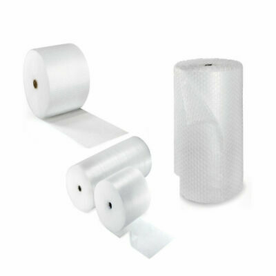 £5.09 • Buy Bubble Wrap Small Large Bubble Cushioning Rolls 50 & 100 Metre Packing All SIZE
