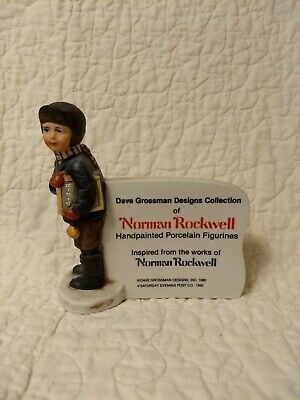 $ CDN15.17 • Buy EUC Norman Rockwell/Dave Grossman Designs Figurine SATURDAY EVENING POST 1980