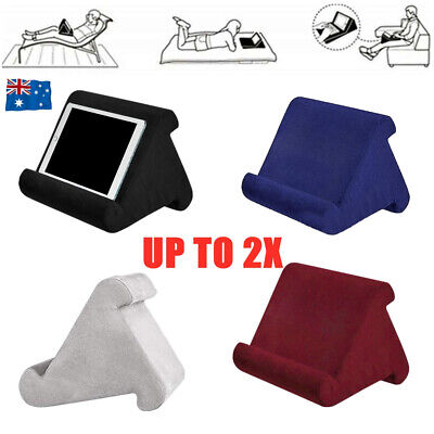 AU44.27 • Buy Tablet Pillow Stand For IPad Phone Reading Bracket Holder Cushion Pad Portable