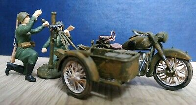 Soldiers. Soviet Motorcycle M-72 With Mortar. 1/35. New!  • 42.69£