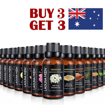 AU18.55 • Buy 10ML/30ML Essential Oil 100% Pure& Natural Aromatherapy Diffuser Fragrance Aroma