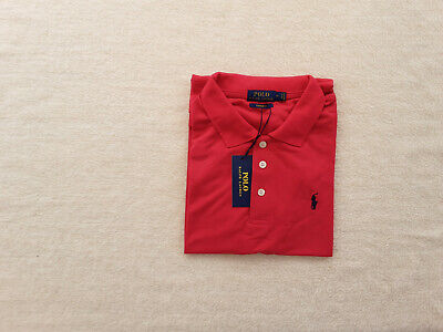 AU34.95 • Buy Original Ralph Lauren Polo Slim Fit Red Unisex Shirt With Tags