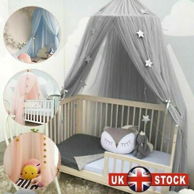 Hanging Baby Bed Canopy Mosquito Net Dome Dream Curtain Tent Children Room • 20.99£