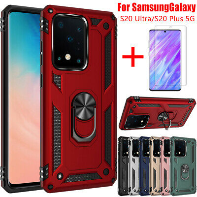 Shockproof Ring Holder Case Cover For Samsung Galaxy Note 20 Ultra S20 FE Plus • 5.98£