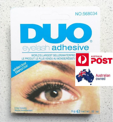 AU5.95 • Buy DUO Eyelash Glue (9g, White/Clear)