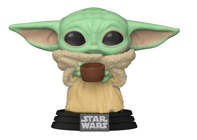 $10.50 • Buy Funko Pop Baby Yoda The Child With Cup #TBD The Mandalorian {Pre-Order}