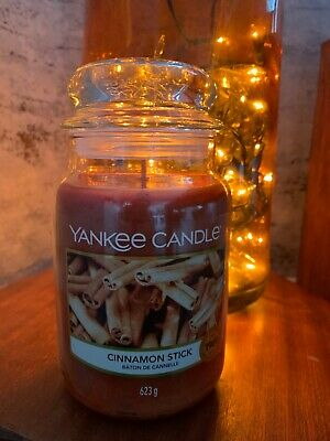 Brand New XL Large 623g Xmas Cinnamon Stick Yankee Candle IN BOX • 19.99£