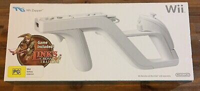 AU49 • Buy Official Wii Zapper + Link's Crossbow Training Bundle - Nintendo Wii Brand New