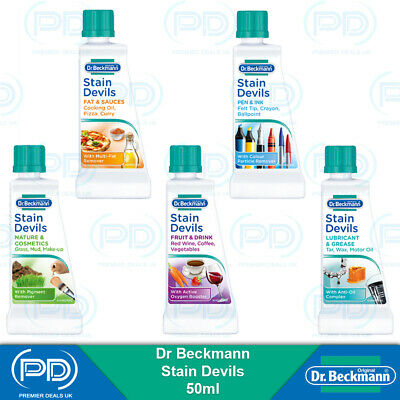 Dr Beckmann Stain Devils Removes Different Types Of Stains Very Effective 50ml • 2.85£