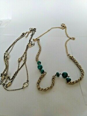 $ CDN27 • Buy Vintage Signed Lia Sophia Necklaces (Lot Of Two) Beautiful See Details