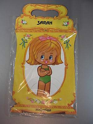 AU15.61 • Buy Vintage Paper Doll SARAH W/ Stand (made San Sebastian) Unopened Miniboutique 84