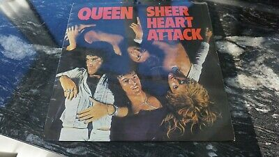 QUEEN SHEER HEART ATTACK UK 1974 1st PRESS  • 39.95£