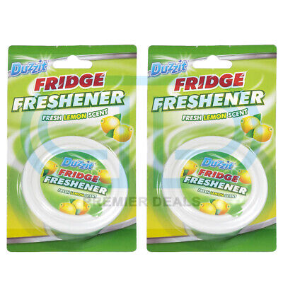 Fridge Freshener Lemon Deodoriser Air Fresh Kitchen Smell Scent Scented Duzzit • 4.99£