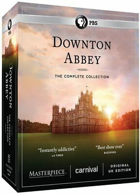 Downton Abbey Complete Series Collection Box Set Region 1 New  • 34£