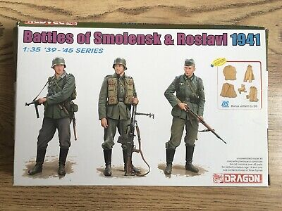 Dragon 1:3 5 6791: Battle Of Smolensk & Roslavl 1941 - 3 Figures • 20.99£