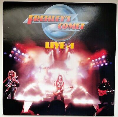 Ace Frehley - Frehley's Comet Live + 1 - Org LP • 16.99£