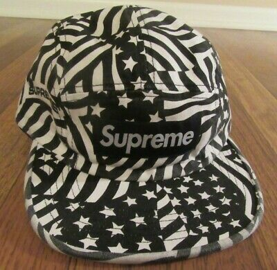 $ CDN134.82 • Buy Supreme Washed Chino Twill Camp Cap Hat Black Flag SS20 Supreme New York 2020 DS