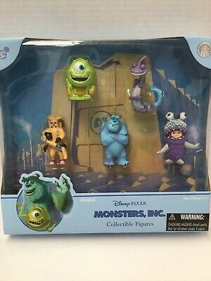 £25.42 • Buy Disney Parks  Pixar Monsters Inc Collectible 5 Figures Cake Topper  RARE   NEW