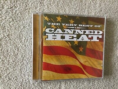 The Very Best Of Canned Heat -  CD As New • 2.95£