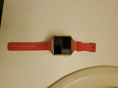 $ CDN86.97 • Buy Fitbit Blaze Watch Gold Series Rose And Gold Small