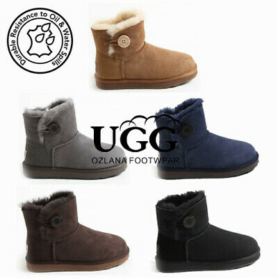 AU54 • Buy Ozlana Ugg Bailey Button Boot (water Resistant) 5 Colours Oz 0002