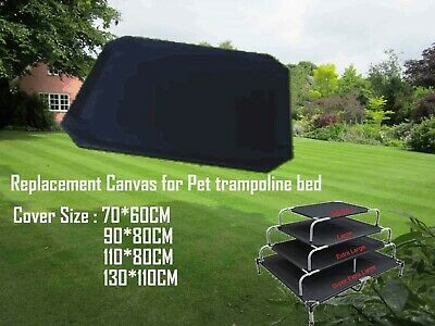 AU22.99 • Buy Dog Trampoline Hammock  Bed Replacement Mat Cover Black