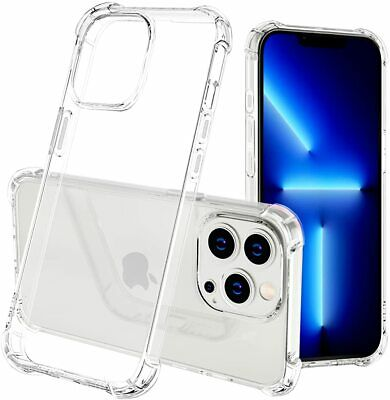 AU7.99 • Buy For Apple IPhone 13 12 Pro Max 11 XR XS SE 7 8 Clear Case Bumper Slim Back Cover