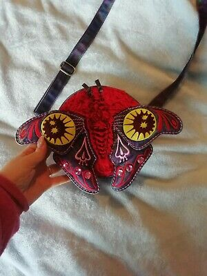 £20 • Buy Oilily Bag 3d Moth / Butterfly. Iridescent Wings. Celestial Rare Unique