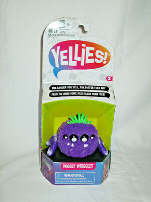 $9.99 • Buy Yellies Voice Activated Spider Wiggly Wriggles Purple New