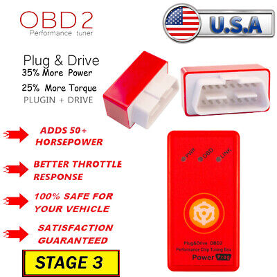 $25.73 • Buy Power Tuner Chip Fits 2005-2014 Ford Mustang - Performance Tuning Programmer