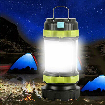 Rechargeable LED Camping Lantern Outdoor Tent Lights & Power Bank Phone Charger  • 14.46£