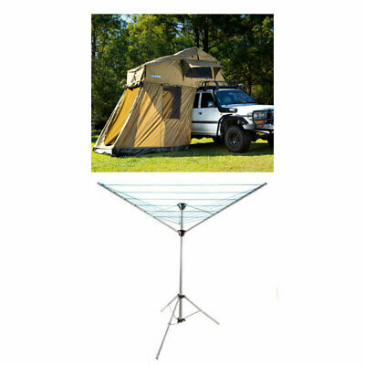 AU848 • Buy Kings Roof Top Tent With 4 Man Annex + Clothesline