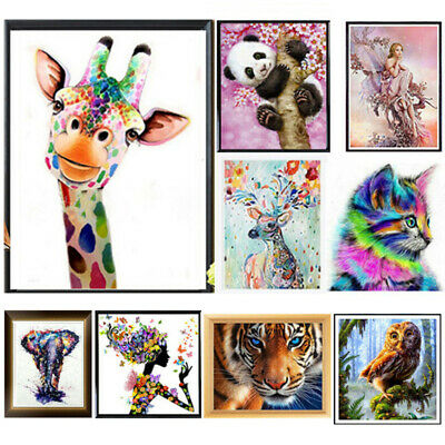 £4.99 • Buy 5D Diamond Painting Embroidery Cross Stitch Picture Art Craft Kit Wall Decals UK