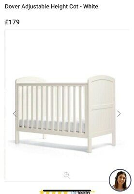 £145 • Buy Mamas And Papas Dover Cot ( Brand New Mattress Can Be Included If Required)