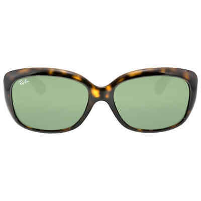 $82.61 • Buy Ray Ban Jackie OHH Green Classic G-15 Round Ladies Sunglasses RB4101 710 58-17