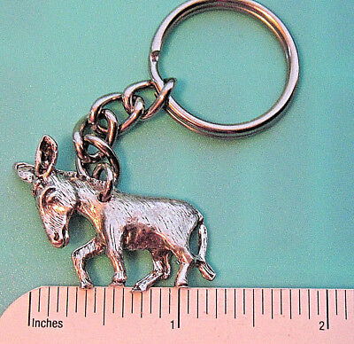 $15.50 • Buy DONKEY Burro , Mule Figurine , Comical - Keychain GIFT BOXED Pewter , Not Gold