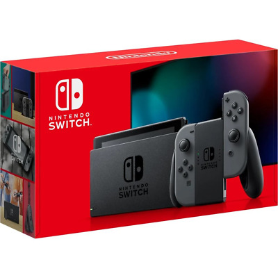 AU469 • Buy [au Stock] Nintendo Switch Console Grey (new Look Packaging)