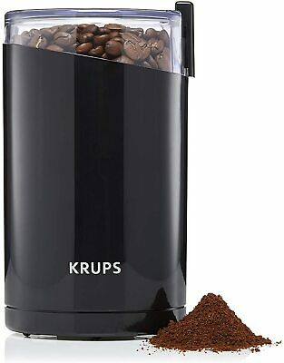 Krups Coffee Mill Grinder For Espresso With Twin Stainless Steel Blades, 180watt • 19.95£
