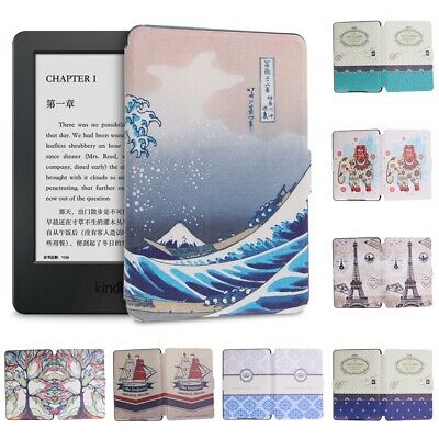 AU19.75 • Buy Cover E-reader Protective Shell Smart Case For Amazon Kindle Paperwhite 1/2/3