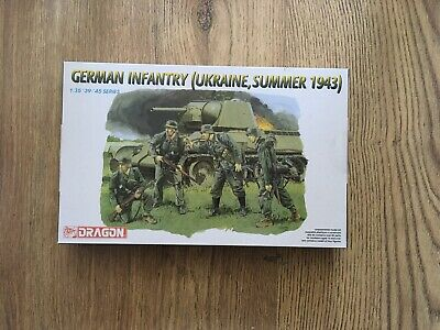 DRAGON 6153 1/35 German Infantry (Ukraine, Summer 1943) • 18.50£