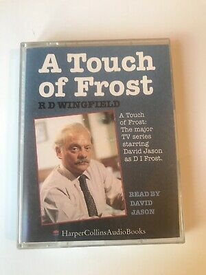 AUDIO BOOK: R D Wingfield - A TOUCH OF FROST On 2 X Cass Read By David Jason • 5.99£