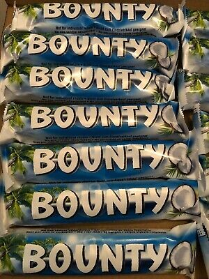 Bounty Milk Chocolate Std Size 7,15 And 32 Bars Long Date Choose Your Quantity • 6.49£