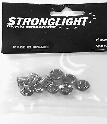 Stronglight Chainring Bolts (steel) Single Or Double X5 • 7.50£