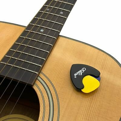 $ CDN6.54 • Buy Guitar Pick Holder Plectrum Mediator Storage Rack Triangle Shape Case Sticker