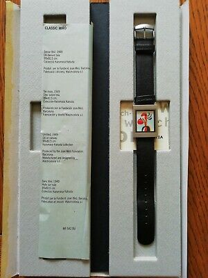 Watch Rare Barcelona Watch-celona Homage To Miró  • 80£